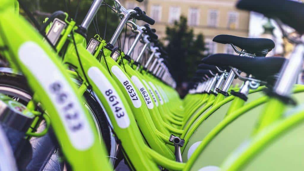 Les vélos Appebike sur leurs bornes