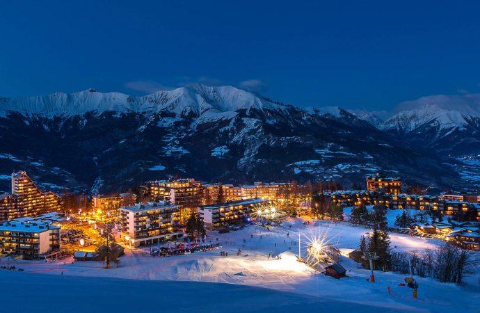 Pra loup, station de ski au coeur des Alpes du Sud