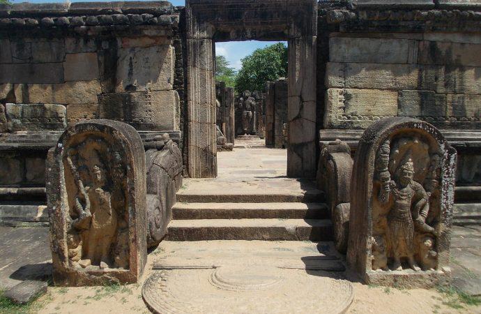 Les ruines de l'ancienne capitale du Sri Lanka