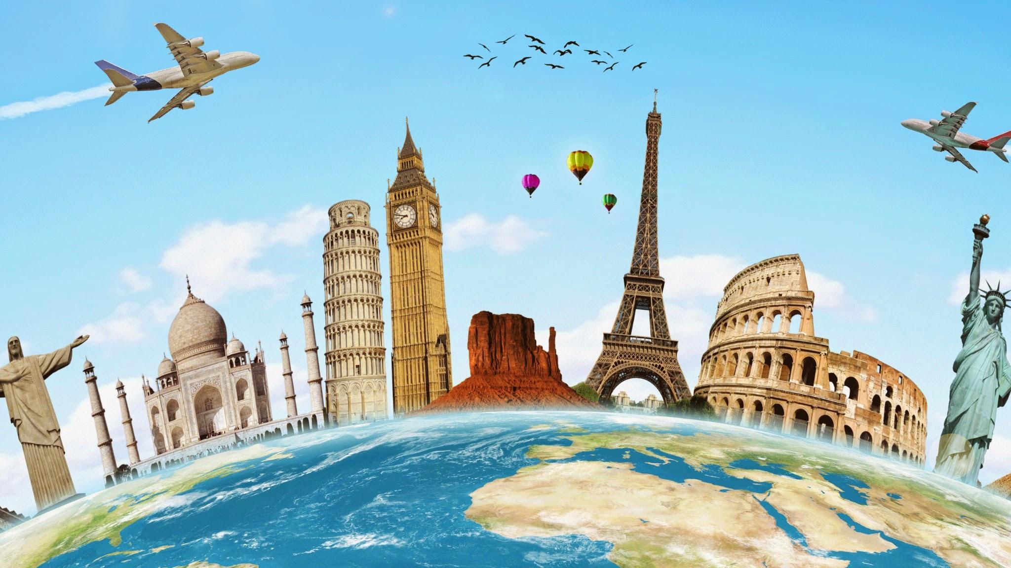Itinéraire de voyage pour faire le tour du monde